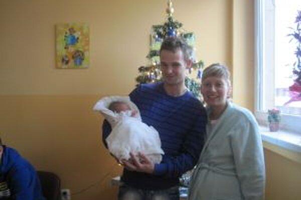 Prvé novorodeniatko je zároveň prvým novoročným obyvateľom Čadce.