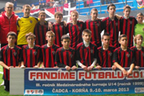 Spartak Trnava ovládol turnaj v Korni.