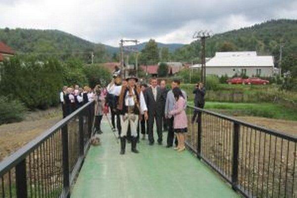 Pre obec je most dôležitý pre jej ďalší rozvoj.