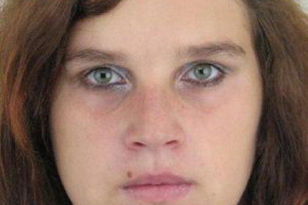 Polícia pátra po 21-ročnej Michaele Gavlasovej zo Staškova. Nezvestná je od 20. januára.