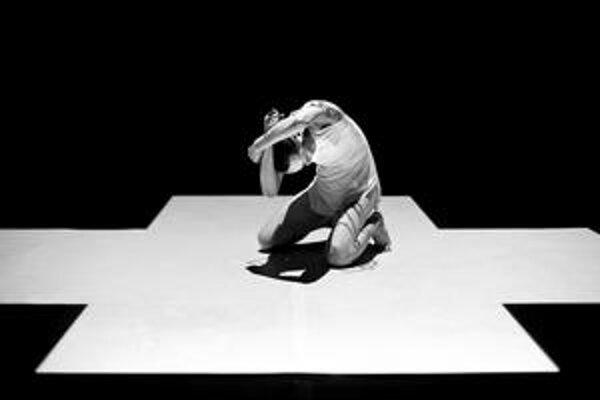 V priestoroch tanečného divadla Elledanse v Bratislave predviedla svoje umenie v rámci festivalu Pro-téza japonská herečka a tanečnica Yum.