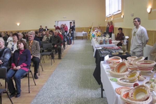 V Zborove nad Bystricou sa odprezentovali obyvatelia sociálnych zariadení a výrobcovia z chránených dielní.