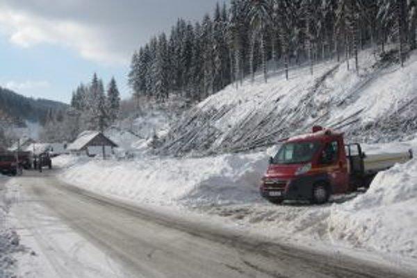 Výpadok elektriny spôsobili polámané stromy, ktoré spadli na vysokonapäťové vedenie.