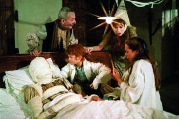 Jednou z rozprávok, ktorá sa v skanzene natáčala bol Pehavý Max a strašidlá.