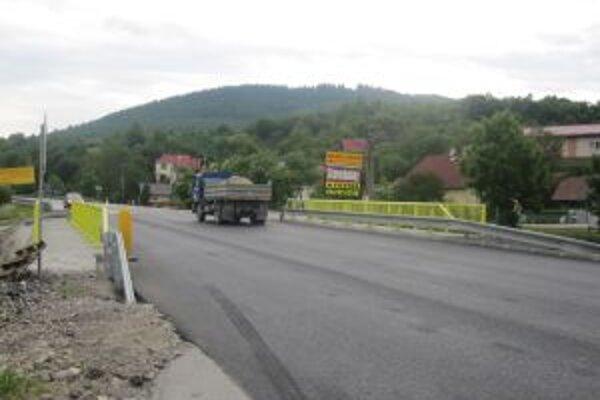 Cestári dokončia práce na rekonštrukcii mosta v predstihu