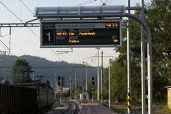 V decembri vstúpi do platnosti nový grafikon železničnej dopravy.
