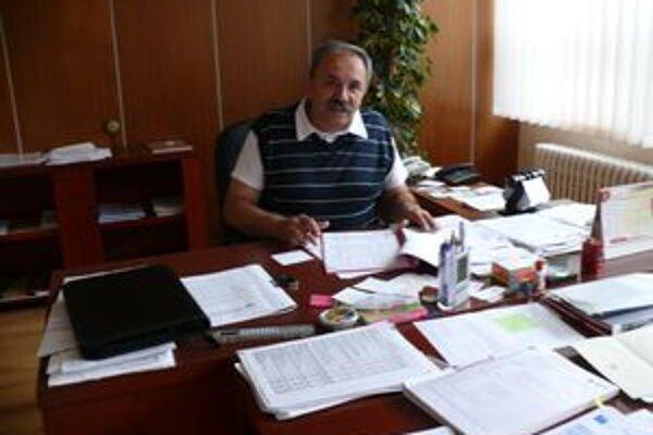 Zastupujúci primátor Jozef Grapa.