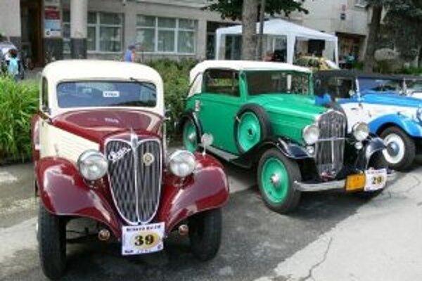Tradičným podujatím Turzovského leta je aj prehliadka veteránov - Beskyd Rallye.