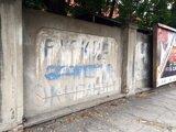 Nápis na múre môže pochádzať z roku 1968.