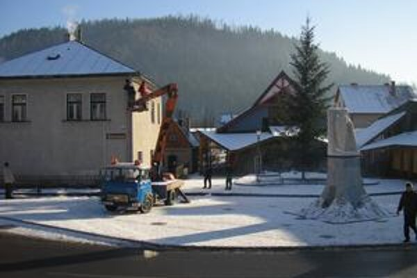 Inštalovanie kamier v Starej Bystrici