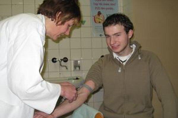 Darovanie krvi sa v krásňanskej škole stalo už tradíciou.