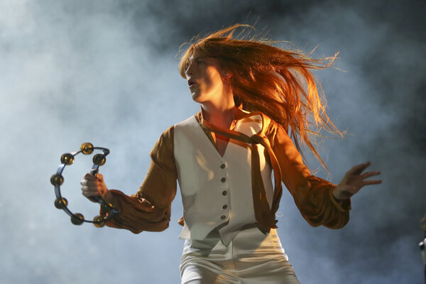 Medzi nominovanými nájdeme aj speváčku Florence Welchovú.