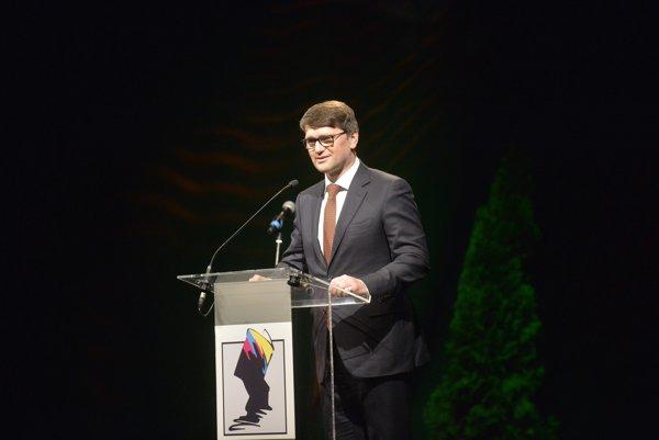 Na snímke minister kultúry SR Marek Maďarič.