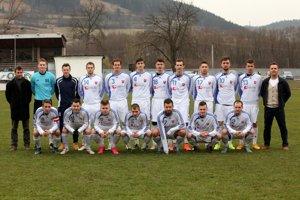 Jarná zostava futbalistov Bytče.