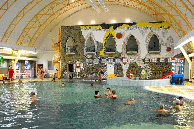Vnútorné bazény Thermal Corvinus vo Veľkom Mederi majú pokojnú atmosféru.