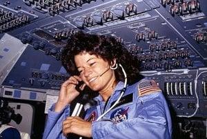 Prvá Američanka vo vesmíre, Sally Ridová, menštruáciu nevnímala ako problém.