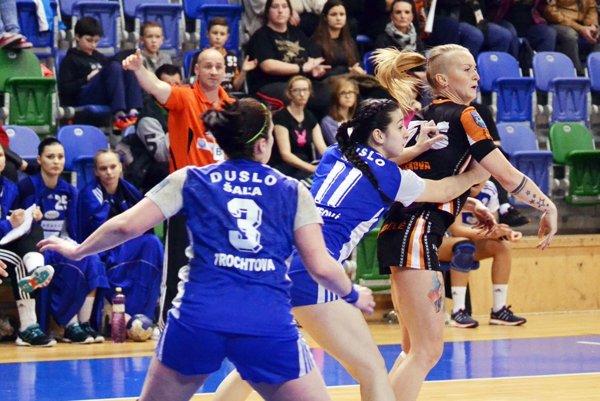 V poslednom zápase interligy Šalianky prerušili úspešnú sériu aprehrali vMoste.