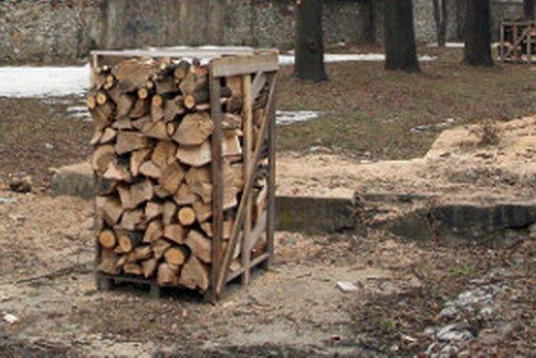 Palivové drevo. Novobančanom v núdzi darovali pred zimou dve palety.