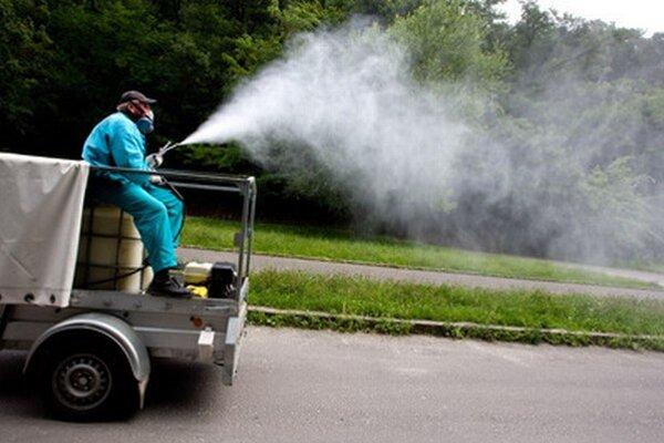 V Bratislave by mali v najbližších dňoch robiť postrek proti komárom.