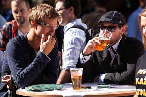 Akcie povolené mestom majú na alkohol výnimku.