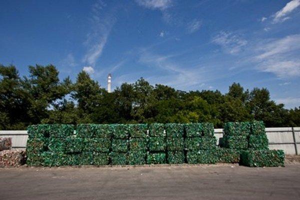 Triedenie odpadu, ilustračná foto