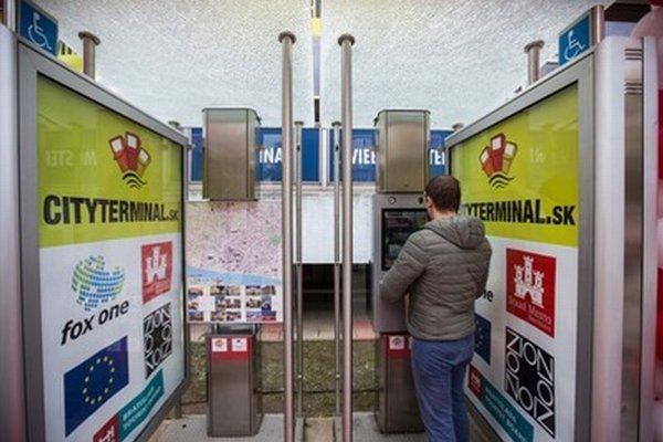 Multifunkčný informačný terminál.