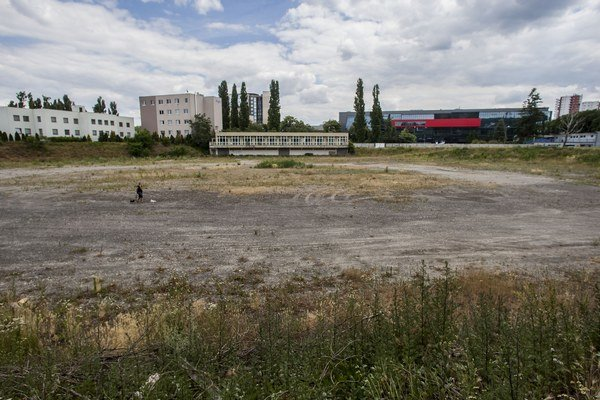 Cykloštadión by mal vzniknúť na Ulici odbojárov a Kalinčiakovej ulici pri Tehelnom poli.