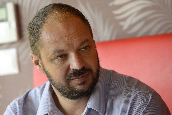 Nový starosta Dúbravky Martin Zaťovič.