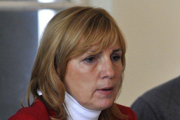 Dana Čahojová, nová starostka Karlovej Vsi.