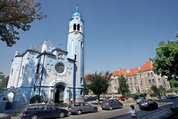 Secesný Modrý kostolík bude oslavovať sto rokov.