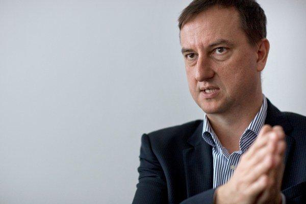 Kandidát na župana Daniel Krajcer (NOVA).