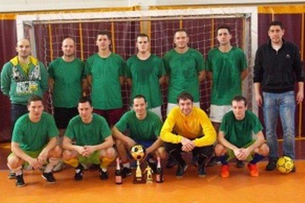 Wartburgovci - víťaz Zimnej ligy.