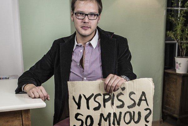 Sergej Kára z OZ Vagus robí s bezdomovcami niekoľko rokov