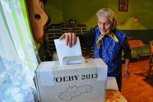 V prvom kole volilo v Bratislavskom kraji historicky najviac voličov.