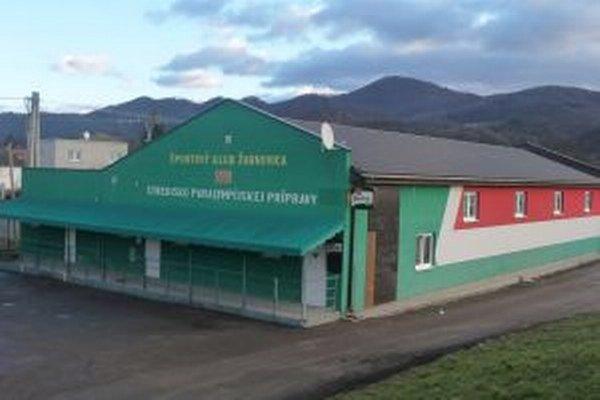 Budova paralympijského strediska v súčasnosti.