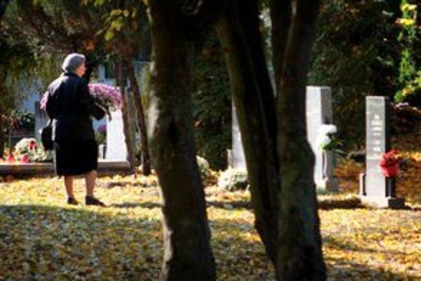 Celkovo ročne pochovajú do zeme 1200 Bratislavčanov. Väčšinu do existujúcich hrobov, alebo na miesta po neplatičoch.