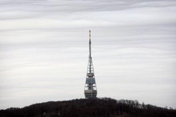 Televízna veža je najvyššou stavbou v Bratislave.