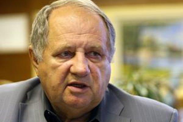 Richard Frimmel bývalý starosta Nového Mesta.