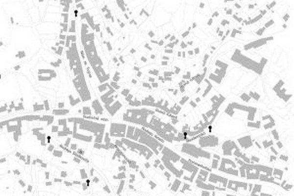 S mapou za umením ste mohli po Štiavnici chodiť už aj vlani.