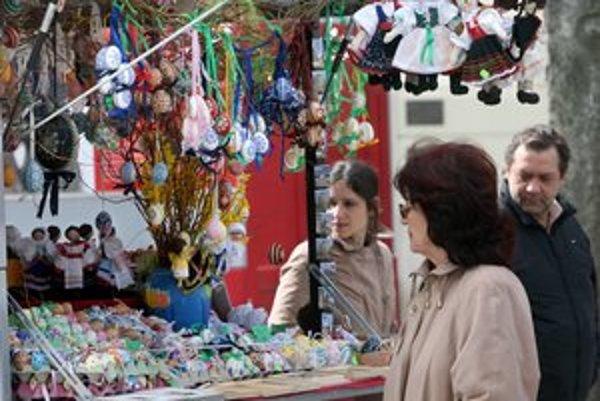 Staromestské Veľkonočné trhy bývajú na Hviezdoslavovom námesti.