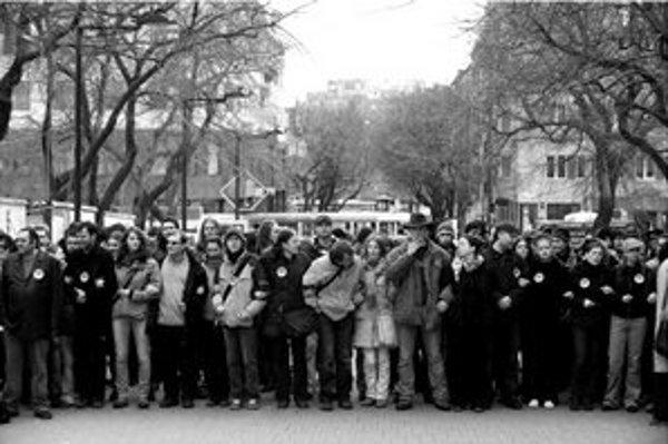 Blokáda neonacistov bude v sobotu od 14.00.