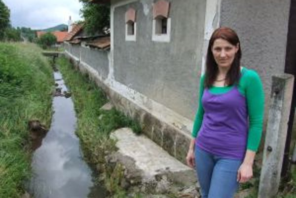 Obecný potok sa dokáže zmeniť na ničivý živel.