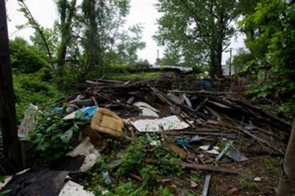 Takto vyzeralo okolie Karloveského ramena v roku 2010.