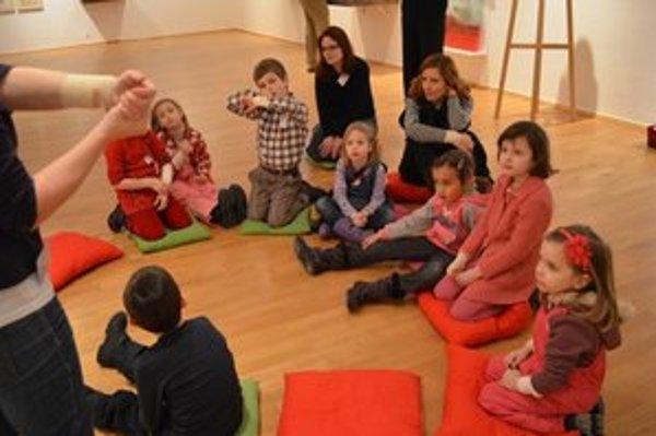 Rodinné podujatia v SNG sú vhodné pre deti od štyroch rokov.