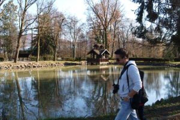 Novou atrakciou v parku je rybačka.