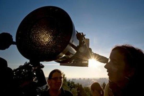Takto nadšenci pozorovali tranzit Venuše.