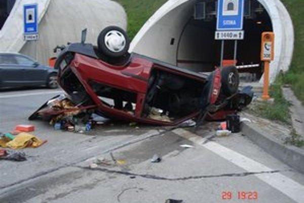Nehoda pri Sitine.