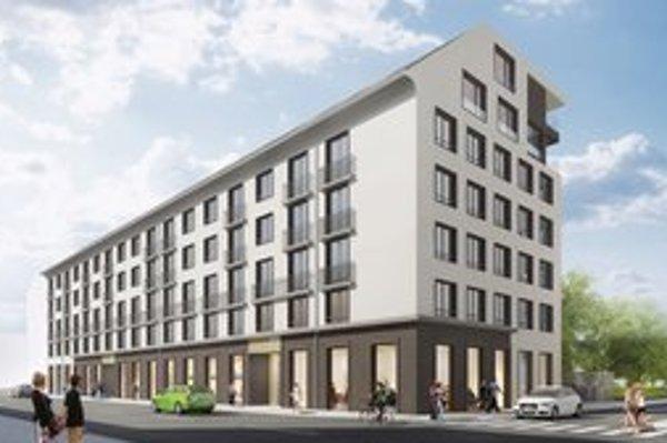 Na malometrážne byty spoločnosť plánuje prestavať ubytovňu na Páričkovej.