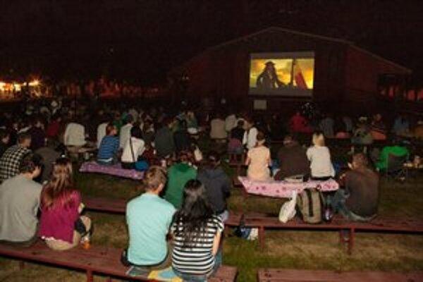 Počas letných mesiacov mestská časť ponúkala napríklad aj letné kino.