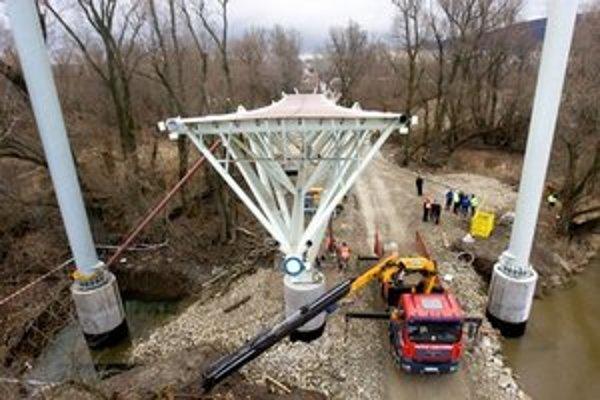Okolo cyklomosta medzi Devínskou Novou Vsou a rakúskym Schlosshofom vznikne v rámci projektu Za mostom cyklistická infraštruktúra.